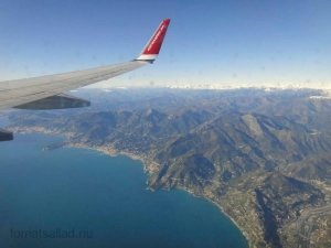 Norwegian under inflygning till Nice