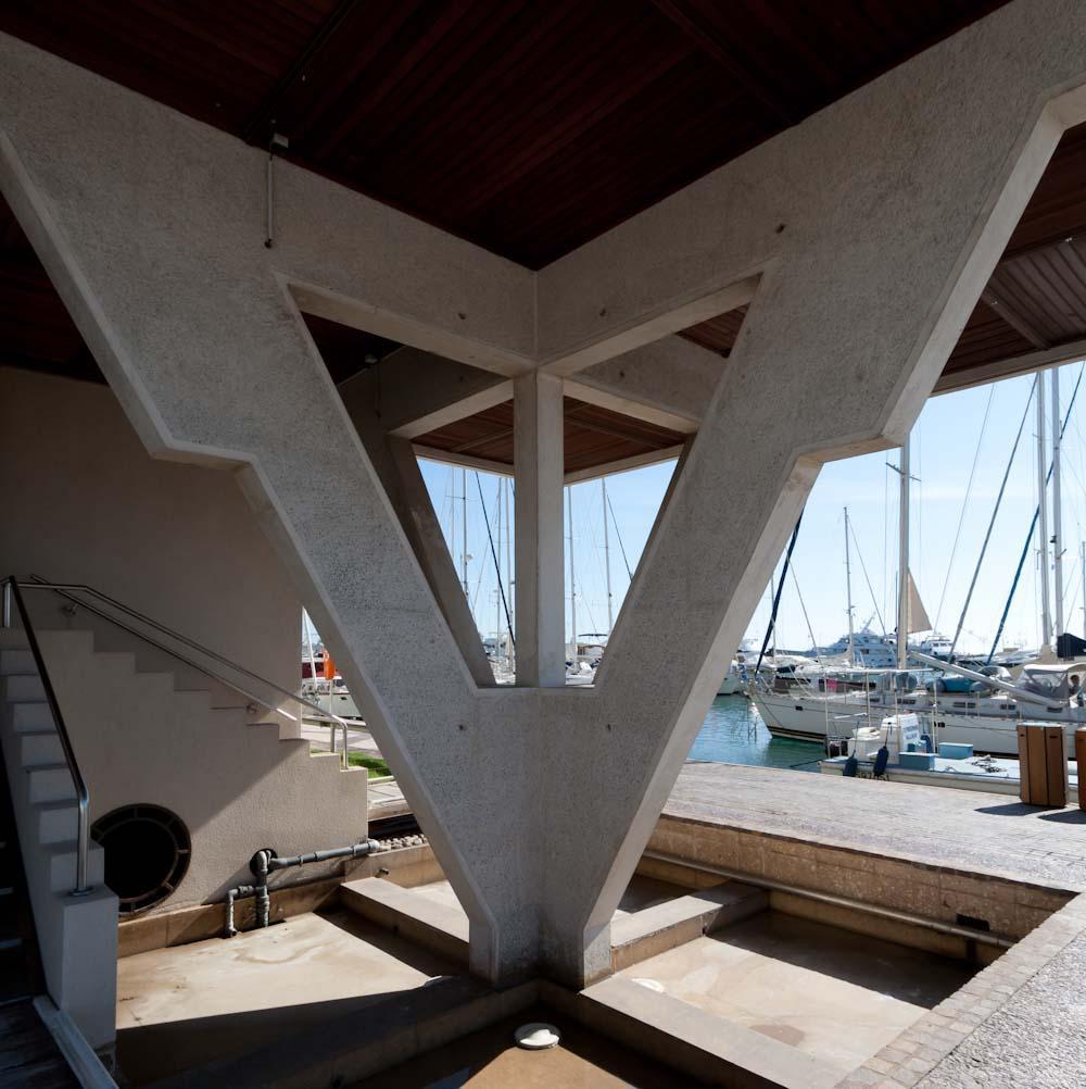Nya hamnkontoret i Fréjus