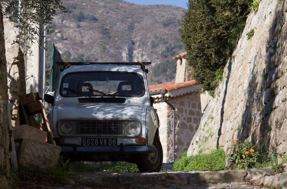 coaraze gammal bil
