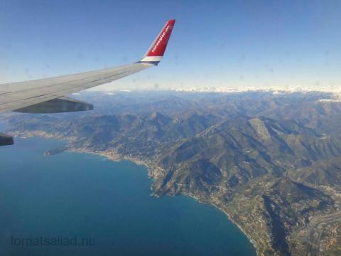 Norwegian under inflygning till Nice