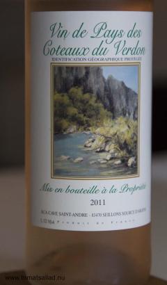 Vin de Pays des Coteaux du Verdon