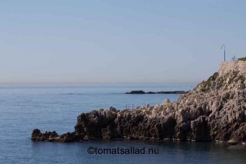 sentier littoral cap d'antibes