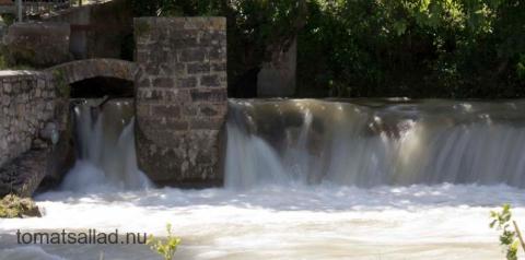 detalj i vattenfall