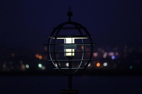 Canon 6D provbild - lampa på Eriksberg