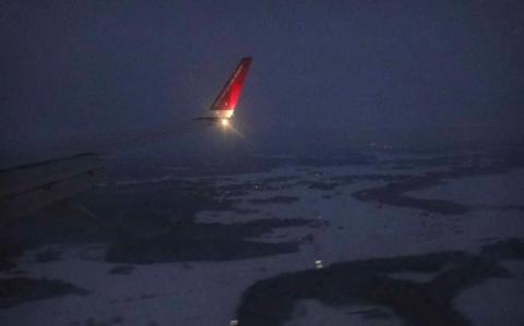Inflygning till Arlanda
