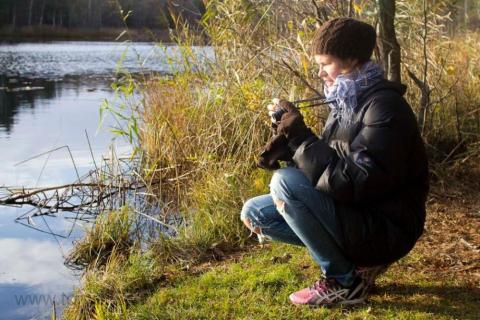 Hårfagre fotograferar