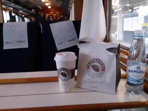 Espresso house på Blå Tåget