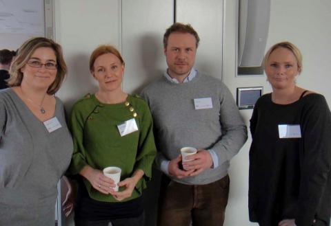 Kristina Svensson, Anja Wikström, Kaj Karlsson och Nina Larsdotter