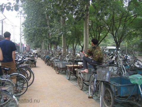 Cyklar i Peking