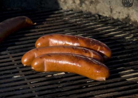 Chorizo på grillen
