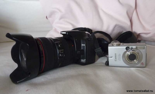 Canon Eos och Canon Ixus