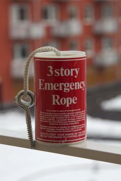 3 story emergency rope