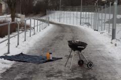 vår grillplats i ny tappning