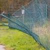 staket på svaj