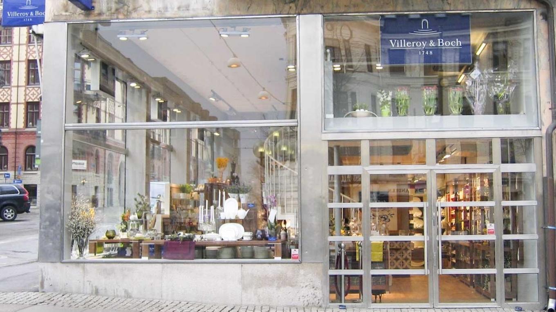 Villeroy & Boch skylfönster Avenyn