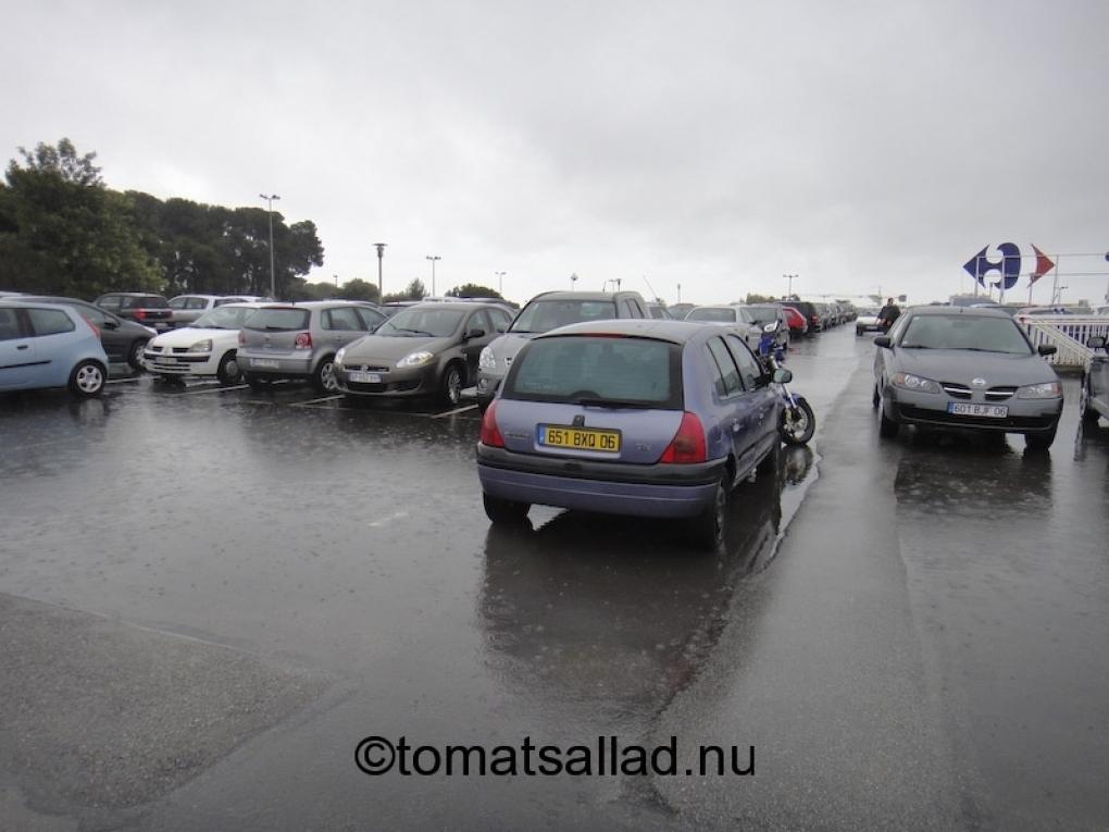 fransk parkering