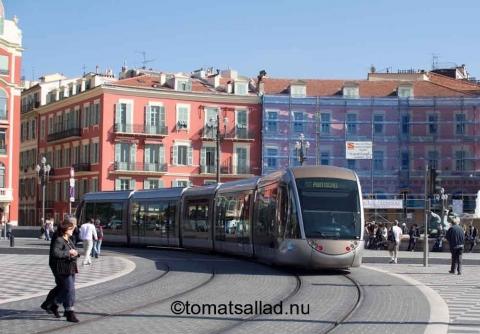 Spårvagn i Nice