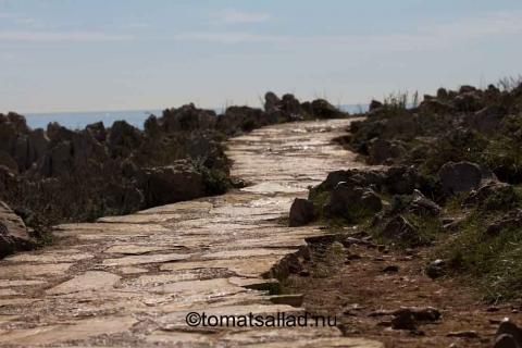 sentier-littoral på cap d'antibes