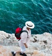 azurblått hav