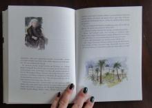 uppslag ur boken Från vårt kvarter i Nice