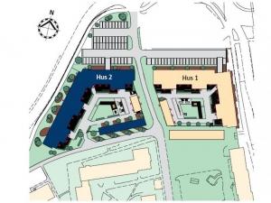 Skanska österport och västerport på Vänortsgatan