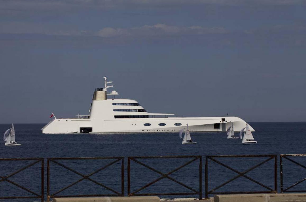 Båten A utanför Antbes