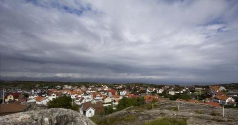 utsikt över Vrångö