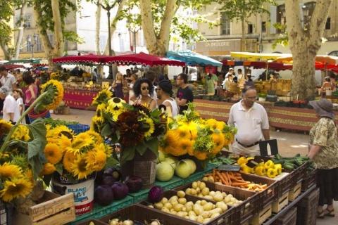 marknad i Aix en Provence