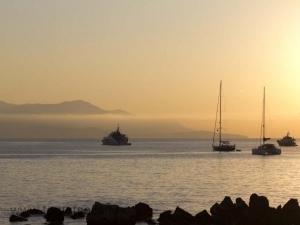 morgon i Antibes