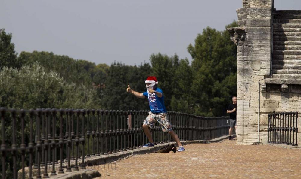 Tomte på Pont d'Avignon