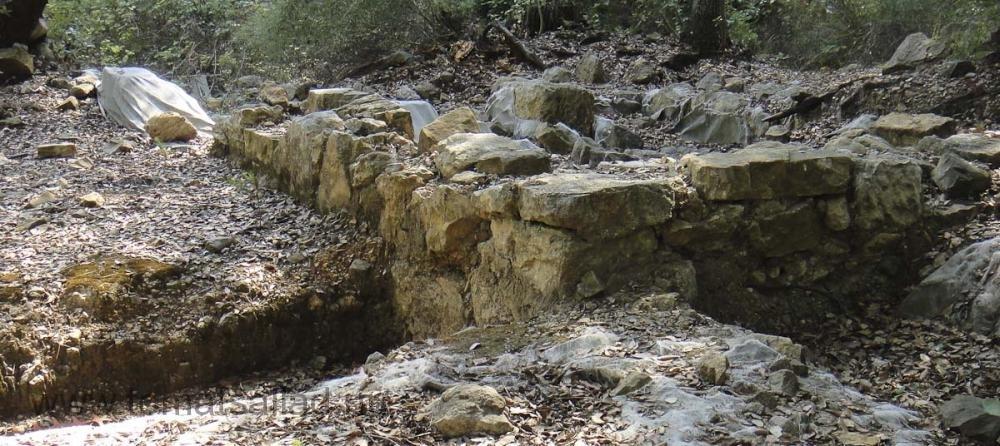 vägg i oppidum Cordula?