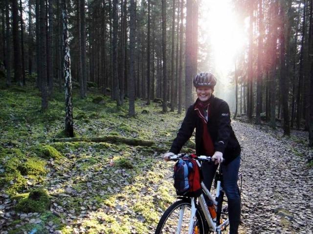 Cykla Blå slingan