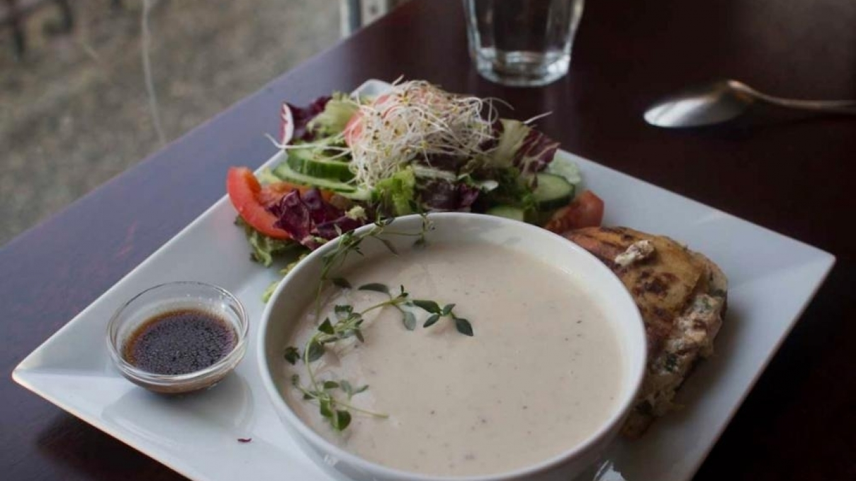 Viggbyholms stationscafe soppa