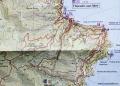 karta runt Théole-sur-Mer