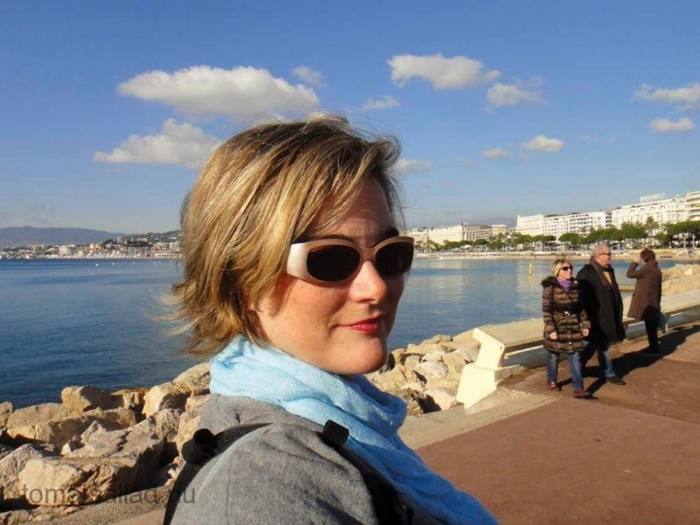 Kristina Svensson i Cannes