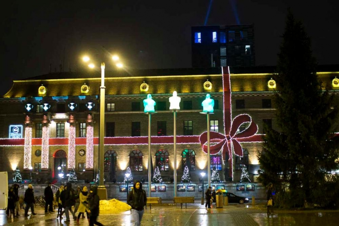 Clarion Post hotell i julskrud