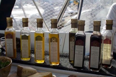 olivoljor och vinäger