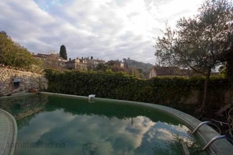 pool med utsikt