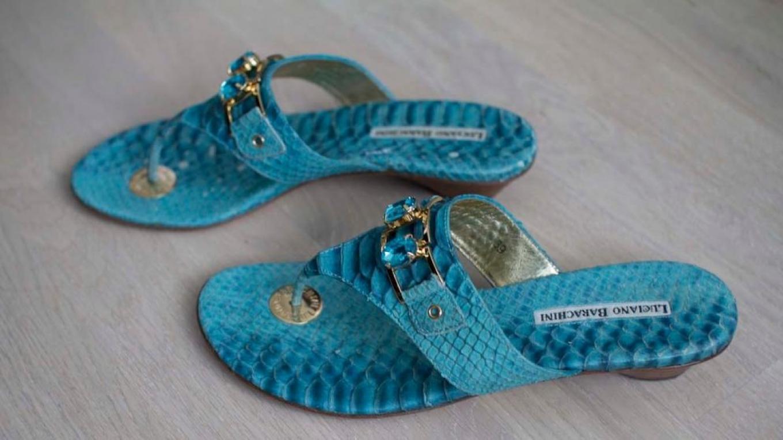 turkos sandaler