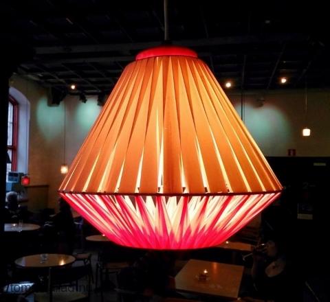 lampa på Hagabion