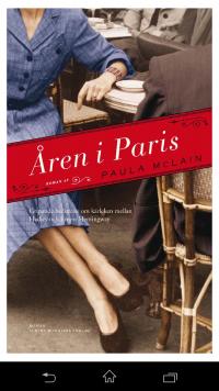 Åren i Paris - bokomslag