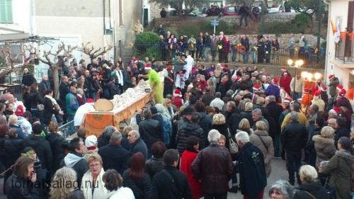 julstubbe på Place du Safranier