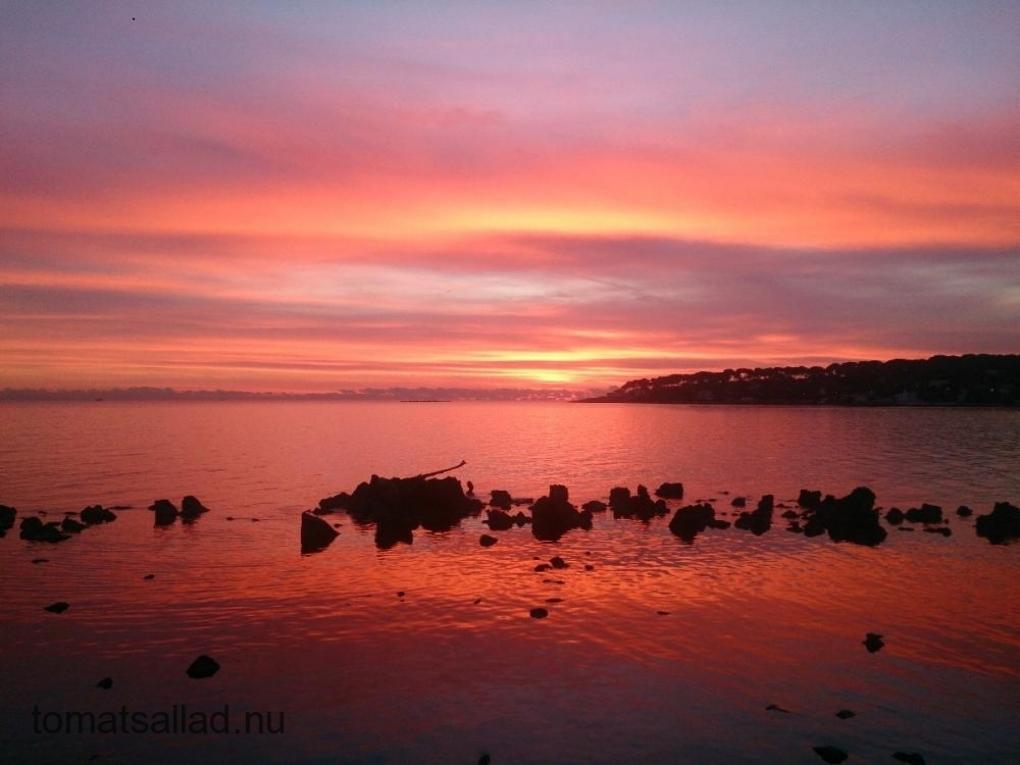 soluppgång Medelhavet