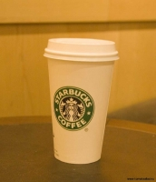 Latte från starbucks