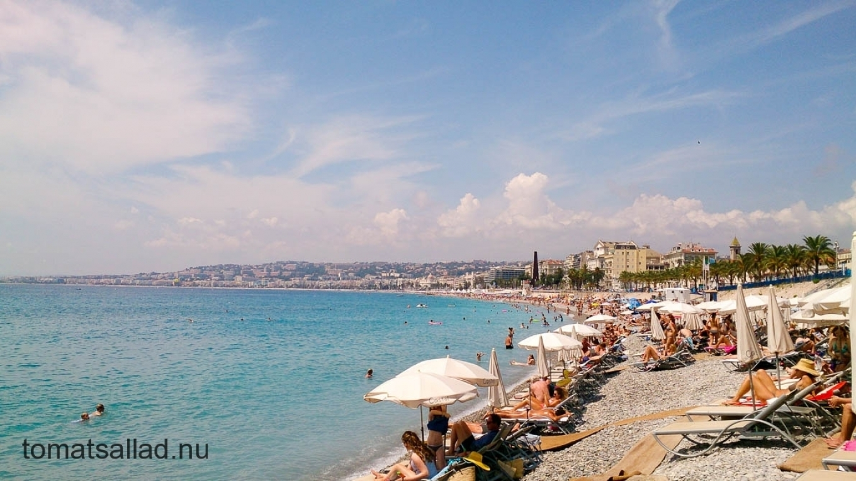 Nice franska Rivieran