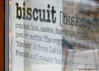 Biscuit spegling i fönster