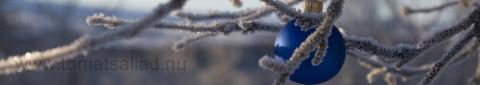 god jul (blå kula)