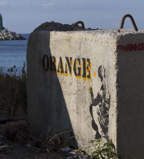 Äkta italiensk grafitti