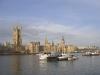 Big Ben och house of parliament dagtid