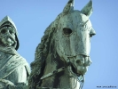 detalj Karl IX staty